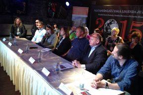 Galerie - Dracula 2015 - tisková konference