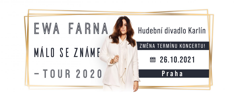 Ewa Farna - Málo se známe Tour 2020